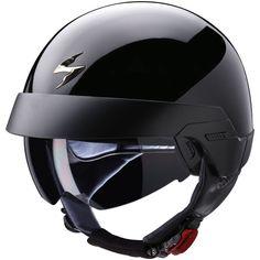 Casque Jet Scorpion EXO 100 Noir