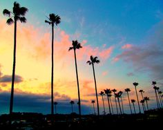 California Living, Sunset, Encinitas, California (10x8 photographic art print, with 1/4 inch white border) on Etsy, $18.00