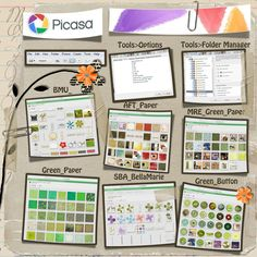Using Picasa to Organize Your Scrap Supplies