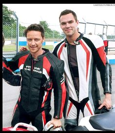 James McAvoy Nicholas Hoult, two of my favorites