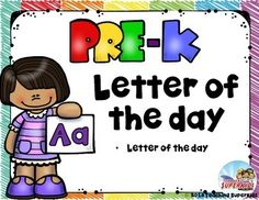Alphabet Activities for PreschoolIf you are looking for a fun way to present the alphabet to your little ones this is a perfect set!  This set includes:Letter of the Day Poster and alphabet cards in 2 stylesAlphabet Sorting Cards (6 for each letter) & letter header cards3 different Alphabet PuzzlesAlphabet Flip Book Large letter templates that you can use for craft projects or use the enclosed clipart to color, cut and glue inside the letterAlphabet Worksheets that include:     Trace the ...