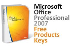 Microsoft Office 2007 Product Key (Service Pack 3)