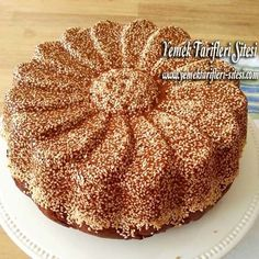 This Pin was discovered by Tür My Recipes, Sweet Recipes, Cake Recipes, Cooking Recipes, Favorite Recipes, Molasses Cake, Ramadan Desserts, Pudding Cake, Turkish Recipes