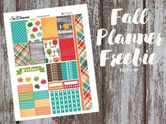 Check out over 30 free fall planner printables. Perfect for all types of planners. Get some fall planner inspiration today. Printable Planner Pages, Free Printable Stickers, Free Planner, Planner Stickers, Free Printables, Planner Diy, Planner Layout, Free Stickers, Planner Ideas