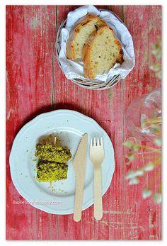 spiedini-pistacchio Sicilian Recipes, Pistachio, Cereal, Beef Roll, Rolls, Breakfast, Food, Pistachios, Morning Coffee