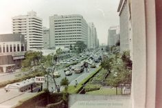 Makati Taken from Gilarmi apartment. Philippines Culture, Manila Philippines, Makati, Interesting Photos, Historical Pictures, Old Photos, Past, Nostalgia, Childhood