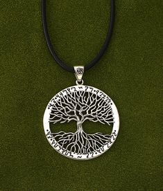 - Wiccan Tree of Life Pendant