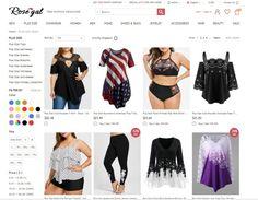 Rosegal – Mais modelos de roupas plus size!
