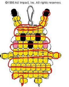 Beaded Pokemon Pikachu - Red Ted Art's Blog