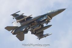 A USAF Lockheed Martin F-16C Fighting Falcon
