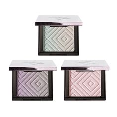 Makeup Geek Highlighter Bundle - Porcelain (3 Compacts) - Come to the light and illuminate your most-loved features with Makeup Geek Highlighters! The super-smooth and incredibly pigmented formula provides a reflective luminosity that ranges from subtle to extreme—use a light hand for a natural, lit-from-within glow or pack it on for an intense, strobed effect. Available in seven signature shades and six duochrome shades that can be applied to both the face and body.     Colors included in…