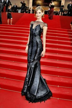 Angela Lindvall (Cannes 2011)-Dress by Arzu Kaprol