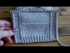 Easy Knitting Patterns, Knitting Designs, Stitch Patterns, Crochet Patterns, Knitting Videos, Crochet Videos, Hand Embroidery Videos, Tutorial, Baby Knitting