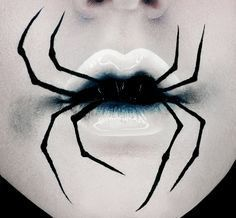 Image result for face of a black widow