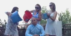 Judge Rinder takes the ice bucket challenge!