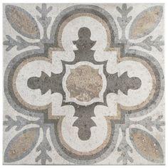 """Ardisana 13.13"""" x 13.13"""" Ceramic Field Tile in Jet Mix"""