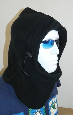 2X Adjustable Outdoor Winter Thermal Fleece Neck Face Mask Hood Warmer Balaclava | eBay