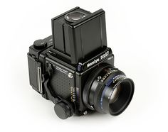 Mamiya RZ67 Pro II - This 6x7 Medium Format Film Camera is a beast! But it is super sharp and really fun to use.