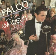 """Rock Me Amadeus (The American Edit) b/w Vienna Calling (The Metternich Arrival-Mix); Vienna Calling (The """"Vienna Girls"""" Sax Mix Max) Falco, AM Records/South Africa Studio 54, New Wave, Lps, Vienna Girls, Vinyl Collection, Italo Disco, One Hit Wonder, Thing 1, Beauty"""