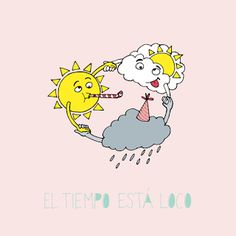 Rastros Ilustrados: El tiempo está loco/The weather is crazy