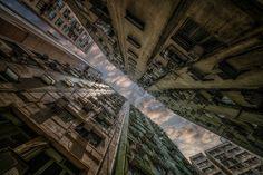Architecture - Hong Kong Facades - [2048 x 1363]