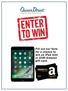 Fill-in this short form for your chance to win an iPad mini or a $100 Amazon gift certificate from Owner Direct Vacation Rentals! Vacation Rentals, Vacation Trips, Dream Vacations, Vancouver Vacation, 2010 Winter Olympics, Iphone App Design, Winter Olympic Games, Short Form, Natural Scenery