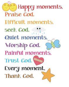 Trust God Poster