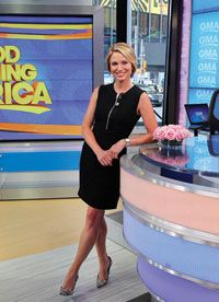 Amy Robach--On Surviving Breast Cancer, Overcoming Fear, and the On-Air Mammogram that May Have Just Saved Her Life Good Morning America Hosts, Miss Georgia, Amy Robach, Robin Roberts, News Anchor, Save Her, Pageant, Breast Cancer, Interview
