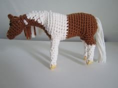 Amigurumi Horse Tutorial : S mores the horse amigurumi to go