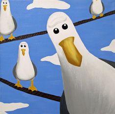 Nemo Seagulls by ~alifsu17 on deviantART