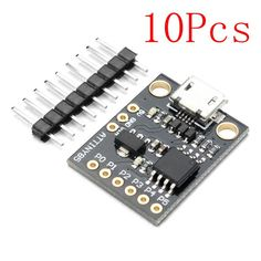 10pcs 16 Bit Ws2812 5050 Rgb Led Full-color Built-in Driving Lights Round Development Board In Pain Diodes Electronic Components & Supplies