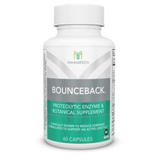 BounceBack capsules are clinically shown to ease delayed onset muscle soreness (DOMS) and help you recover faster. Mind Body Soul, Body And Soul, Health And Wellness, Health Fitness, Wellness Industry, Nutritional Supplements, Healing, Personal Care
