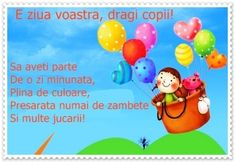 1 iunie ziua copilului. Activitati si jocuri. Curiosi de mici. – Curioși de mici Color Activities, Preschool Activities, Math For Kids, Crafts For Kids, Experiment, Birthday Wishes, Happy Birthday, Anul Nou, Asia Travel