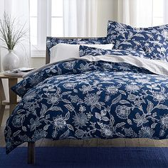 Jamison Floral Percale Sheets & Bedding Set | The Company Store