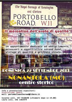Portobello on the road a Nonanola, Modena, il 22 settembre