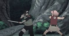 Sakura Haruno - Naruto Shippuden I may not like Sakura all that much, but she does pack one hell of a punch.