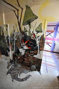 Street Art Tour PARIS13 Artiste: SAILE