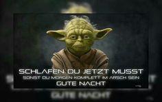 Gute Nacht von Yoda :D