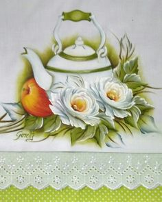 Acrylic Painting Techniques, Acrylic Art, Art Tips, Paper Piecing, Flower Art, Cool Pictures, Diy And Crafts, Tea Pots, Stencils