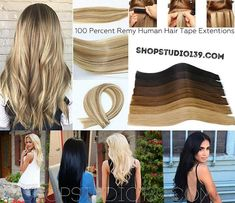5 star Celebrity Human Tape in Hair Extensions 20 inch 20 pcs High quality Remy Straight Hair can be dyed curled and styled many ways Cheap Human Hair Wigs, Remy Human Hair, Remy Hair, Celebrity Hairstyles, Wig Hairstyles, Straight Hairstyles, Hair Tape, Fuller Hair, Tape In Hair Extensions