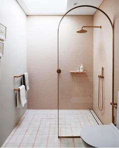 8 Luxury Bathroom Design Ideas To Inspire A pink children's ensuite bathroom with rose gold accents Bad Inspiration, Bathroom Inspiration, Interior Inspiration, Bathroom Ideas, Interior Ideas, Bathroom Goals, Office Bathroom, Bathroom Trends, Interior Colors