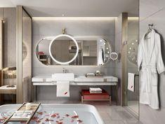 Bath Room, Guest Room, Bathroom Lighting, Mirror, Furniture, Home Decor, Washroom, Bathroom Light Fittings, Bathroom Vanity Lighting