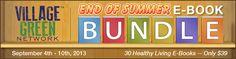 VGN End of Summer Ebook Bundle.  Get 30 ebooks for $39!!!