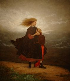"""soul-into-paintings: """" The Girl I Left Behind Me Eastman Johnson - """""""