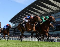 The Aga Khan's Ervedya ran down favorite Found with thrilling acceleration and edged past late to win the Coronation Stakes (Eng-I) at Royal Ascot in England.
