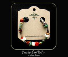 Custom bracelet display cards, Custom necklace display cards, Bracelet cards, Necklace cards, Jewelry cards, Craft show display