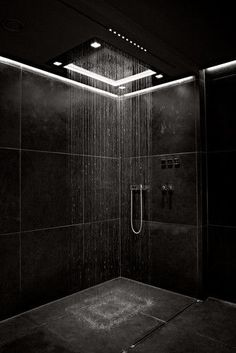 Luxury bathroom design for inspiration and ideas for your bathroom decor. Marble and natural stone flooring and walk-in shower. Usage of white and black interior designs. Bathroom Tub Shower, Bathroom Black, Small Bathroom, Bathroom Mirrors, Bathroom Cabinets, Relaxing Bathroom, Bathroom Canvas, Minimal Bathroom, Shower Tiles
