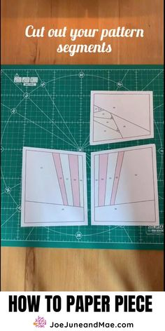 Foundation Patchwork, Foundation Paper Piecing, Free Paper Piecing Patterns, Quilt Block Patterns, Quilting Tips, Quilting Tutorials, Paper Quilt, Paper Pieced Quilts, Paper Peicing Patterns