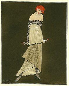 * Salomé (Robe de Paul Poiret) par Simon Puget, 1914