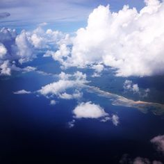Areal view of Andamans